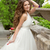 bride portrait beautiful girl with long wavy hair in white weddi stock photo © victoria_andreas