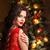 natal · belo · sorrindo · modelo · make-up - foto stock © victoria_andreas