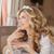 mode · glimlachend · bruid · bruiloft · witte · jurk · gekruld - stockfoto © victoria_andreas