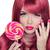 unhas · beleza · menina · retrato · lábios · vermelhos · de · volta - foto stock © victoria_andreas