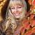 dziewczyna · ręce · piękna · jesienią · liści - zdjęcia stock © victoria_andreas
