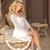 belle · femme · blonde · séance · luxe · sous-vêtements · tapis - photo stock © victoria_andreas