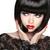 zwarte · kort · kapsel · mode · brunette · meisje - stockfoto © victoria_andreas