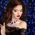 femeie · frumoasa · safir · colier · modă · elegant · la · moda - imagine de stoc © victoria_andreas