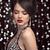 belo · sorridente · morena · menina · modelo · lábios · vermelhos - foto stock © victoria_andreas