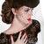 Beautiful Brunette Woman. Retro Fashion portrait in elegant hat  stock photo © Victoria_Andreas