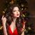 長髪 · 化粧 · クリスマス · 女性 · 美少女 · 肖像 - ストックフォト © Victoria_Andreas