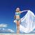 mulher · natação · abrir · mar · água · esportes - foto stock © victoria_andreas