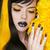 punk · menina · isolado · branco · jovem · difícil - foto stock © victoria_andreas