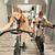 男 · 行使 · 自転車 · ジム - ストックフォト © vilevi
