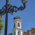 igreja · virgem · cidade · velha · céu · parede · folha - foto stock © vilevi