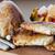 前菜 · 焼き · 桃 · ハム · ヤギ乳チーズ · パーティ - ストックフォト © vilevi