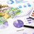 dollár · valuta · grafikonok · pénzügyi · tervezés · költség · jelentés - stock fotó © vinnstock