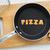 cookie biscuits word pizza in frying pan stock photo © vinnstock