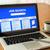 laptop · utilizator · interfata · on-line · cautare · locuri · de · munca · afişa - imagine de stoc © vinnstock
