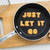 Letter cookies quote JUST LET IT GO and kitchen utensils stock photo © vinnstock