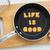 letter cookies quote life is good and kitchen utensils stock photo © vinnstock