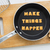 letter cookies quote make things happen and kitchen utensils stock photo © vinnstock