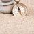 Vintage compass with three pebble stones portrait view stock photo © viperfzk