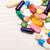 Various pills and capsules macro shot stock photo © viperfzk