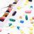 szín · tabletták · kapszulák · tabletta · szervező · heti - stock fotó © viperfzk