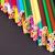 Color pencils pile arrangement stock photo © viperfzk