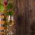 glas · wijn · vat · witte · fles · achter - stockfoto © viperfzk