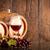glas · rode · wijn · twee · druiven · donkere · houten - stockfoto © viperfzk