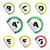 Aufkleber · Energieeffizienz · detaillierte · Illustration · Energie · Klasse - stock foto © vipervxw