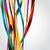 colorato · nastri · compleanno · frame · blu · bandiera - foto d'archivio © vipervxw