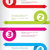 curling color arrow infographic design stock photo © vipervxw