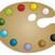 パレット · アクリル · 塗料 · 異なる · 色 - ストックフォト © vipervxw