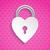 coração · cadeado · estilizado · objeto · longo - foto stock © vipervxw