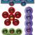 website · internet · pictogrammen · vers · kleuren · vector · iconen - stockfoto © vipervxw