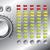 hi fi set with led equalizer design stock photo © vipervxw