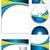 セット · ブレンド · 抽象的な · 波 · 色 · ストリーム - ストックフォト © vipervxw