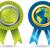 in · tutto · il · mondo · garantire · badge · set · molti · prodotti - foto d'archivio © vipervxw