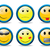set of smileys 2 stock photo © vipervxw