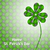 st patricks day background with green elements stock photo © vipervxw