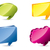 various colored 3d speech bubbles stock photo © vipervxw