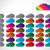 horário · projeto · nuvem · formas · listrado · papel - foto stock © vipervxw