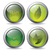 bladeren · water · bio · natuurlijke · icon · vector - stockfoto © vipervxw