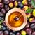 zöld · réz · tányér · textúra · fal · absztrakt - stock fotó © vitalina_rybakova