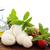 mozzarella · queso · aceite · de · oliva · tomate · albahaca · hierba - foto stock © vitalina_rybakova