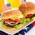 bira · Burger · cam · büyük · lezzetli - stok fotoğraf © vitalina_rybakova