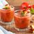 spanyol · fa · asztal · tál · zöldségek · paradicsom · piros - stock fotó © vitalina_rybakova