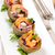 gevuld · inktvis · groenten · vis · restaurant - stockfoto © vitalina_rybakova
