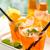 tranche · oranges · eau · design · énergie · couleur - photo stock © vitalina_rybakova