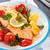 świeże · łososia · Sałatka · warzyw · konkretnych · tekstury - zdjęcia stock © vitalina_rybakova