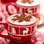 csészék · forró · csokoládé · karácsony · nap · díszített · ünnepek - stock fotó © Vitalina_Rybakova